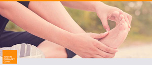 Athlete's Foot Treatment at Tustin Podiatry Clinic
