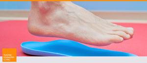 Flat Feet Treatment at Tustin Podiatry Clinic