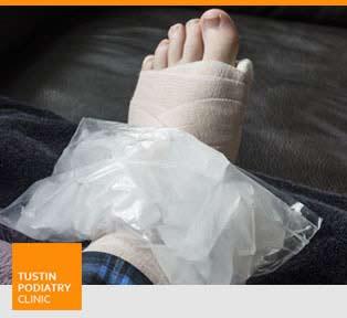 Trauma / Injury Treatment - Tustin Podiatry Clinic in Tustin, CA.